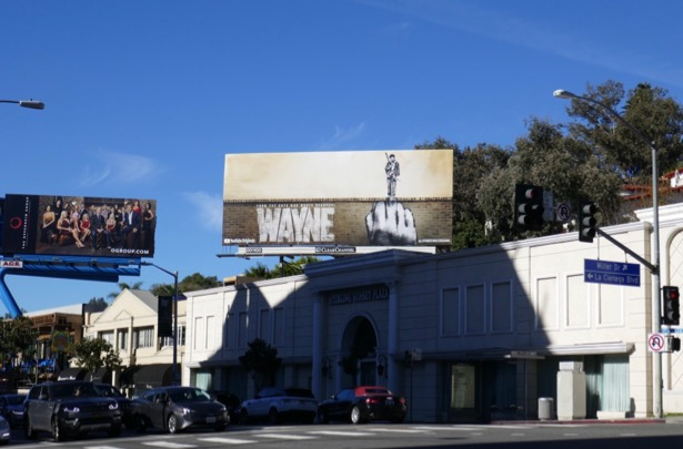 Wayne YouTube series billboard