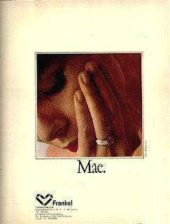propaganda jóias Frankel - 1979.  moda anos 70; propaganda anos 70; história da década de 70; reclames anos 70; brazil in the 70s; Oswaldo Hernandez