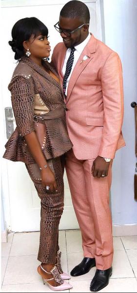 Funke Akindele and her man,JJC shares lovely photo