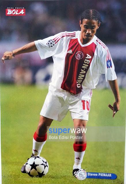 Poster Steven Pienaar (Ajax Amsterdam)