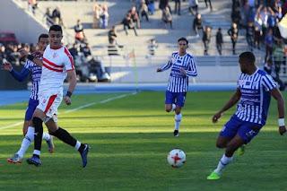 اهداف مباراة الزمالك واتحاد طنجه 3-1 كاس الكونفيدرالية اليوم 19/1/2019 Zamalek vs Union of Tangier Morocco