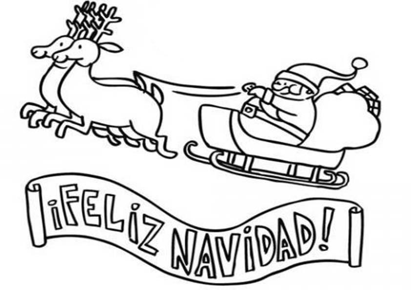 Colecci n de gifs im genes de navidad en blanco y - Dibujos para imprimir y colorear de navidad ...