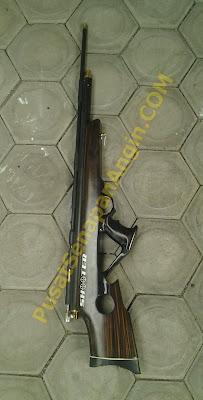 senapan angin PCP lokal model bullpup