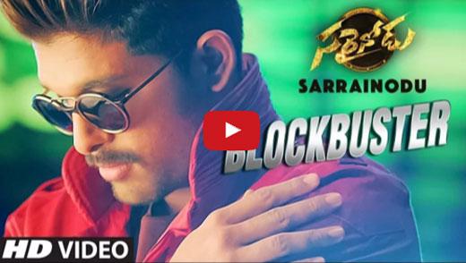 Sarrainodu Blockbuster Video Song