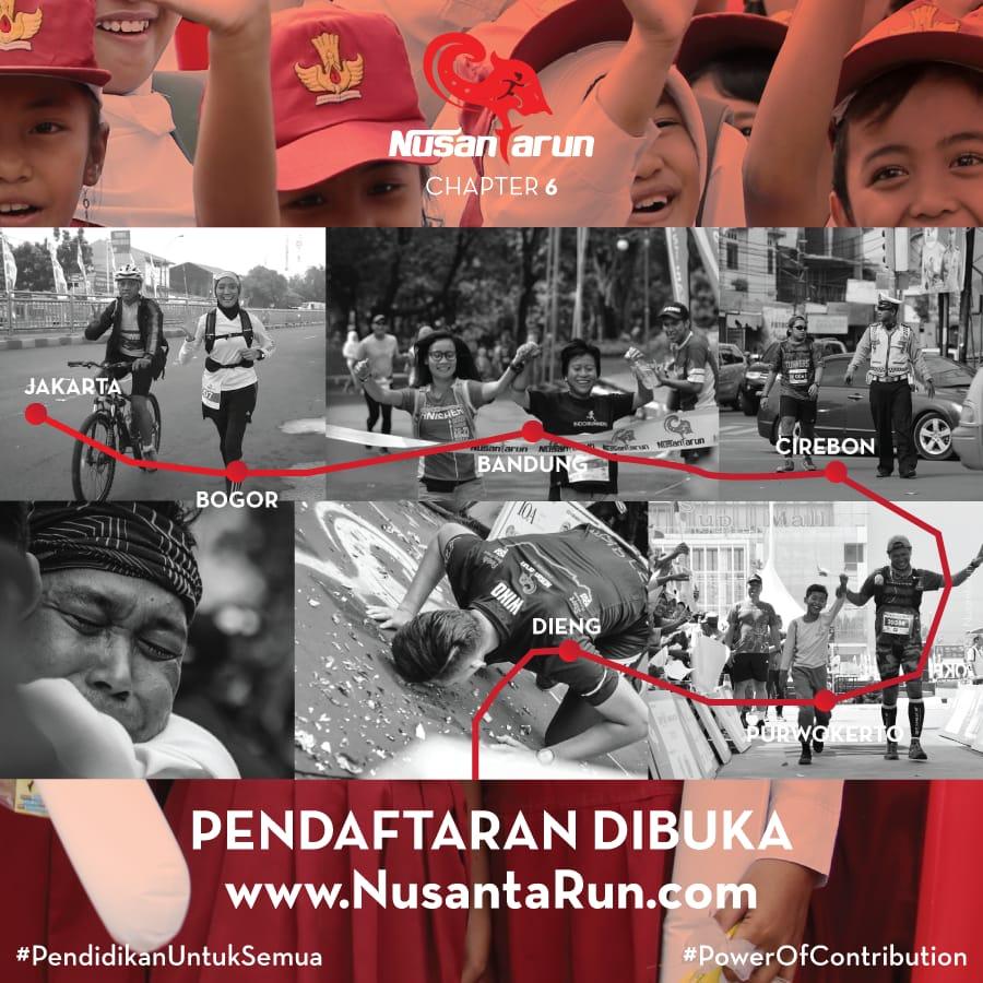 NusantaRun Chapter 6 • 2018