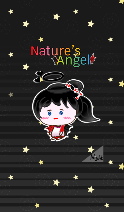 Nature's Angel - Devil Black Night