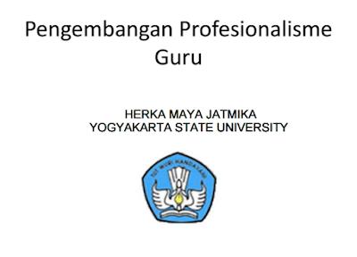 modul pengembangan profesionalisme guru dalam menghadapi UKG