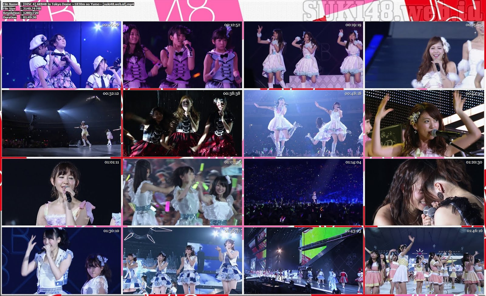 BDRIP] AKB48 In Tokyo Dome ~1830m no Yume~ (2012) – SUKI48