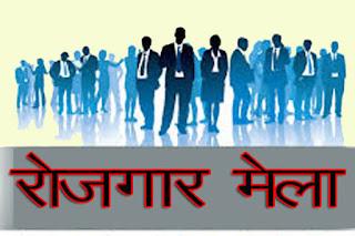 विकास भवन में रोजगार मेले का हुआ आयोजन,206 युवाओ को मिला रोजगार