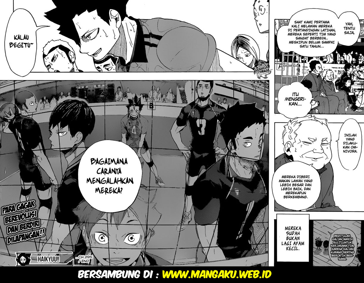 Haikyuu!! Chapter 295-15