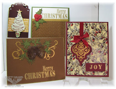 Crafty Colonel Donna Nuce for Club Scrap Christmas Thyme bloghop