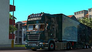 Scania DQF truck and trailer