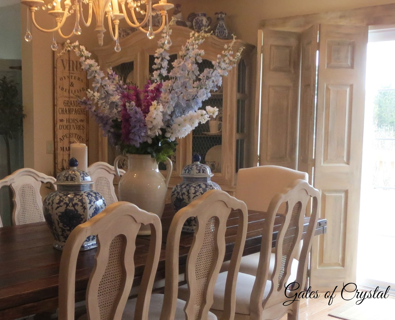Gates of Crystal: New Dining Room Chairs