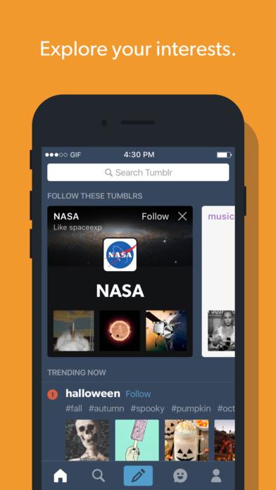 Tumblr - 可用 iPhone 管理和使用的輕量級部落格