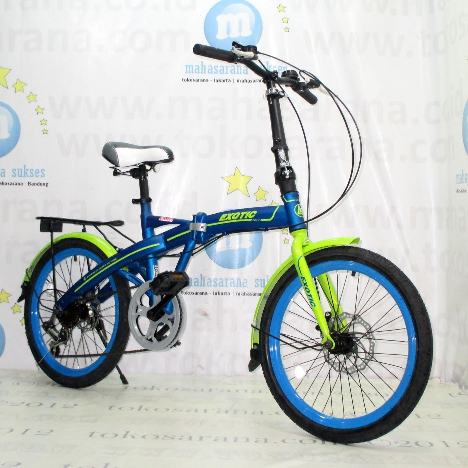 tokosarana™ Mahasarana Sukses™ Sepeda Lipat Exotic 20