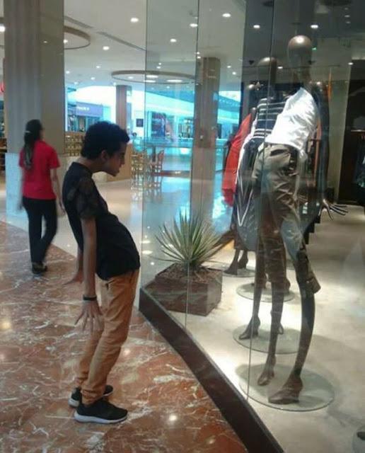 Quando a loja de roupa tem seu tamanho