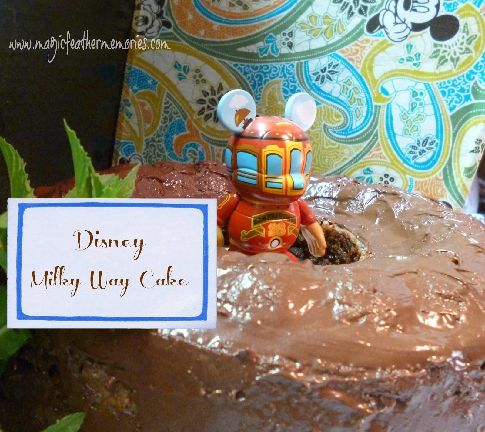 Disneyland Sweet Memories Cake Recipe