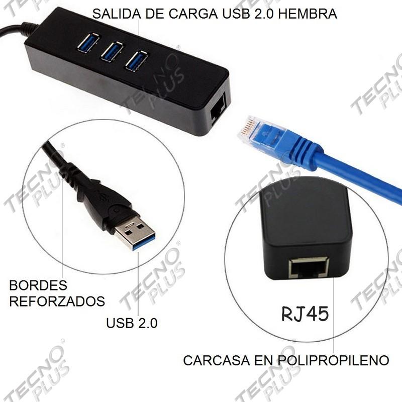 Convertidor usb 3 0 ethernet cable red rj45 macbook 3 for Cable ethernet precio