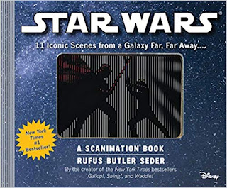 Star Wars: A Scanimation Book: Iconic Scenes from a Galaxy Far, Far Away...