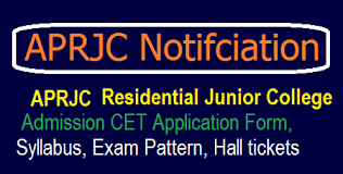 APRJC CET 2018 Notification,Key/Exam dates,Eligibility,Fee Payment,Online Application