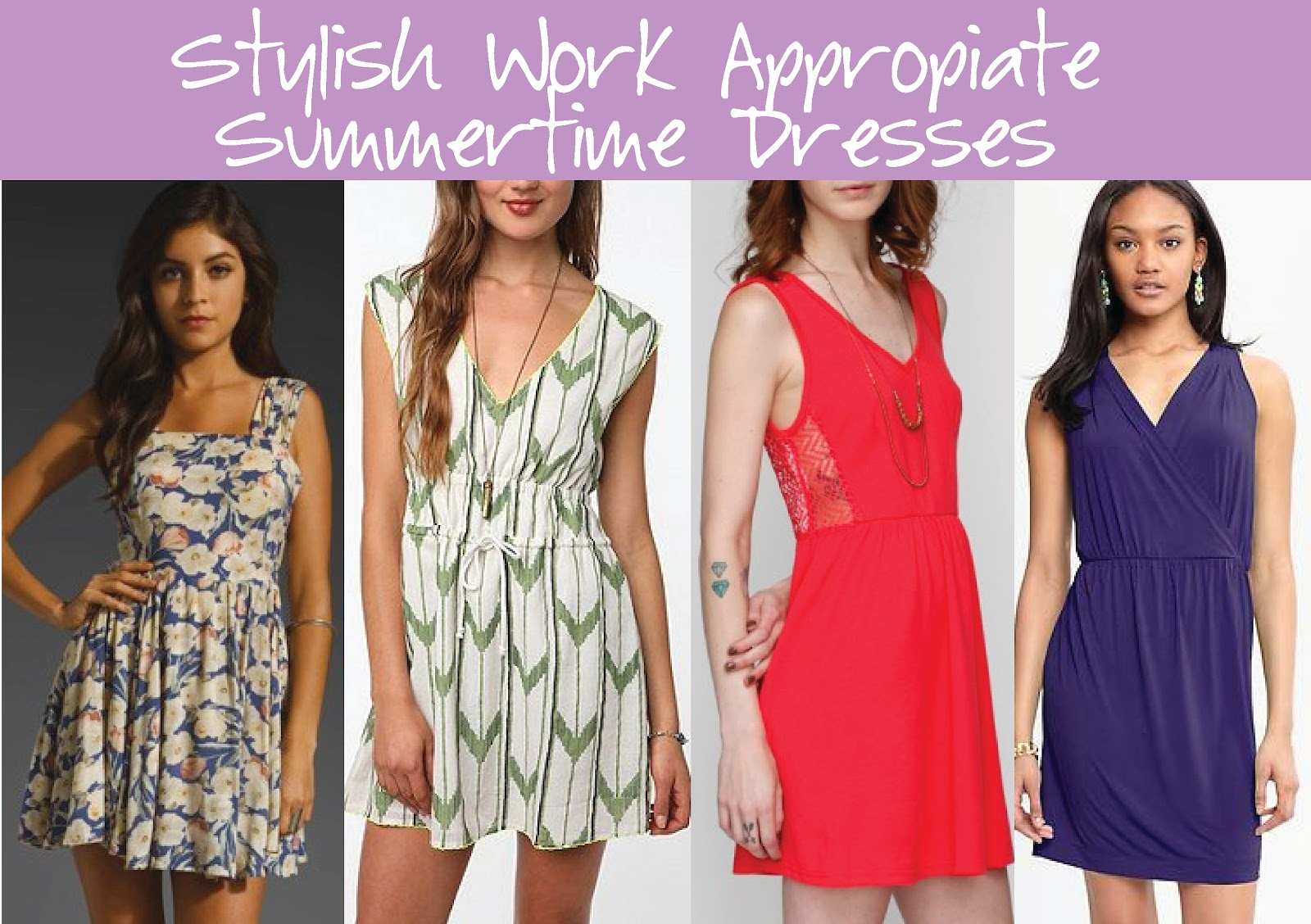 f6994f82270a Stylish Work Appropriate Summertime Dresses | Stylelista Confessions