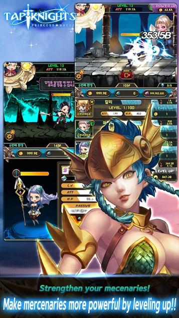Download Tap knights princess quest Mod Apk Versi Terbaru