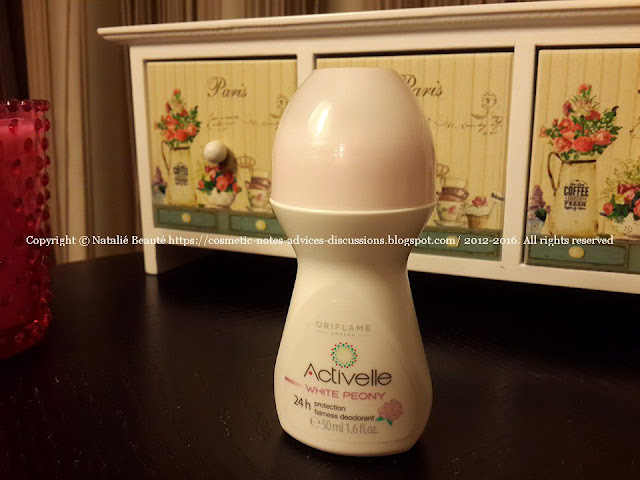 ACTIVELLE WHITE PEONY 24 HOURS FAIRNESS DEODORANT NATALIE BEAUTE PHOTO AND ARTICLE