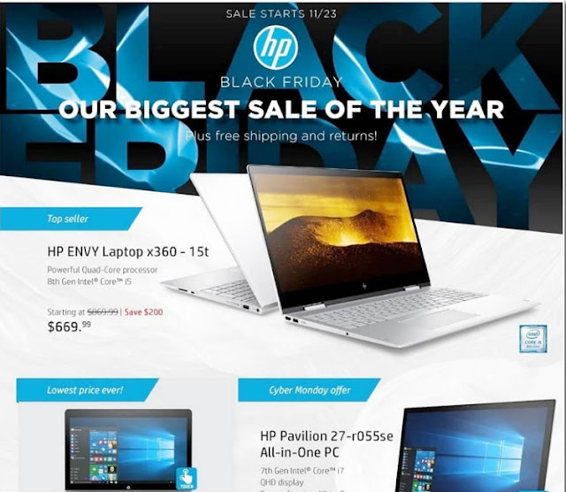 HP Black Friday 2017 Ad