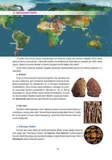 Astronomi ve Uzay Bilimleri Ders Kitabı Cevapları Ata Yayınları Sayfa 18