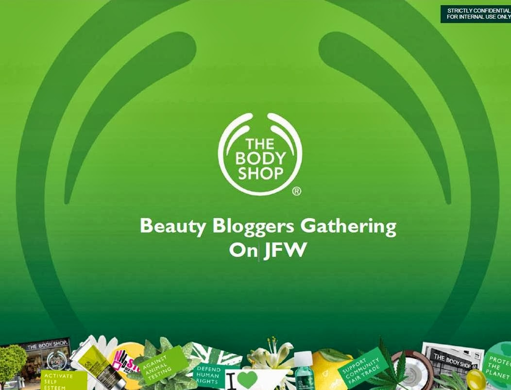Beauty Bloggers Gathering on Jakarta Fashion Week with The Body Shop