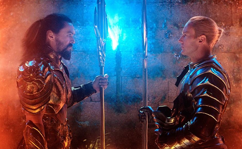 """Novas imagens de """"Aquaman"""" apresentam Mestre do Oceano, Vulko e Rainha Atlanna"""
