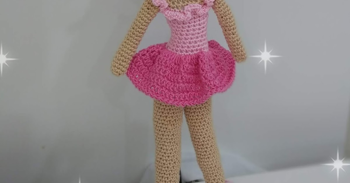 Boneca Amigurumi Bailarina | TOP RECEITAS Amigurumi Boneca ... | 630x1200