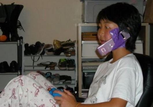 Aksi multitasking yang tidak sesuai dicontohi