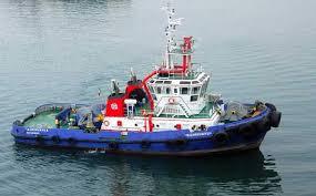 Jenis Kapal Menurut Bahan dan Alat Penggeraknya, kapal tunda