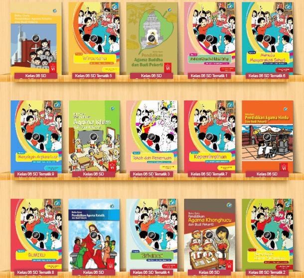 Buku Guru dan Siswa SD Kelas VI (6) Kurikulum 2013