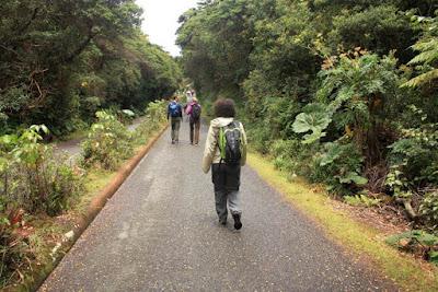 Parque Nacional Volcan Poas en Costa Rica