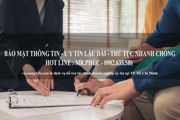 Dịch vụ vay tiền nhanh uy tín số 1 tại Hồ Chí Minh