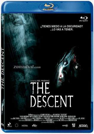 The Descent 2005 English Hollywood 480p Bluray 300mb ESub