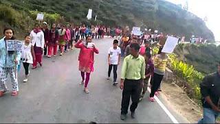 Tingling landslide victims rehabilitation