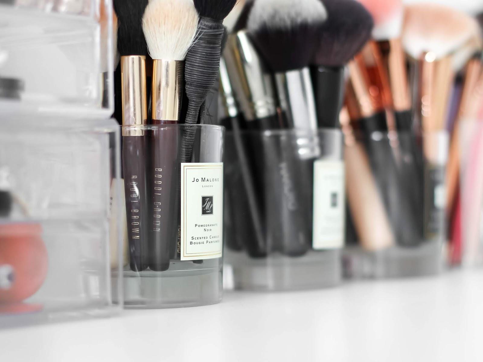 štětce na makeup kosmetická sbírka