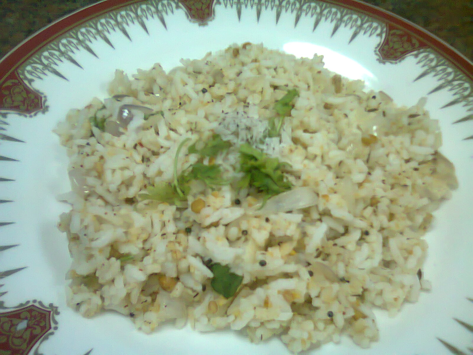 Nandini's Cook Book: Powdered Dhal Rice