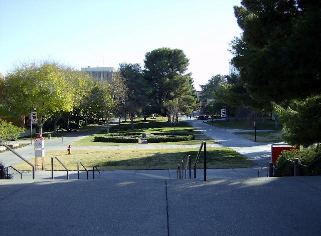 Campus da UNLV em Las Vegas