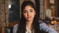 Zaira Wasim Advertise