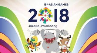 Klasemen Medali Asian Games 2018 - Indonesia 31 Medali Emas