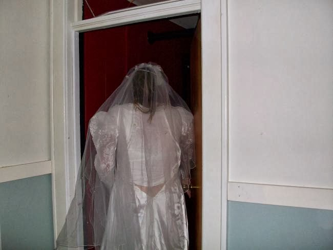 Ghost Elizabeth In Wedding Gown