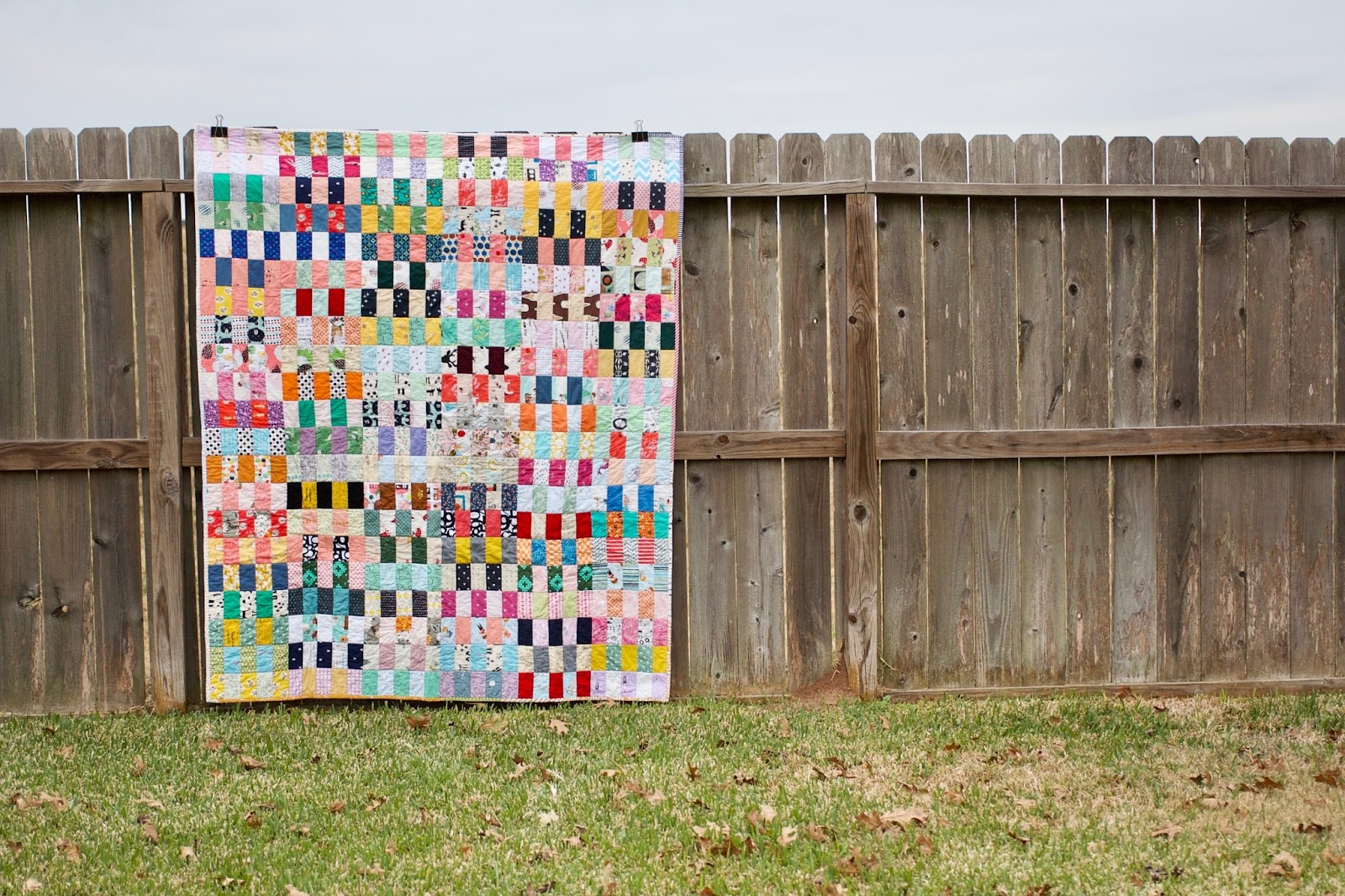 A Quilt Is Nice Scrap Stack Quilt