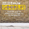 Lirik Lagu Harris J - Good Life
