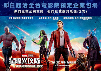 Guardians of the Galaxy Vol. 2 Banner Poster 1