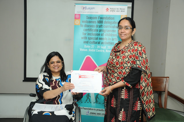 Svayam Foundation and National Bal Bhavan unveil India's first Teacher Training Certificate Programme for an Inclusive Education System for Children with Special Needs