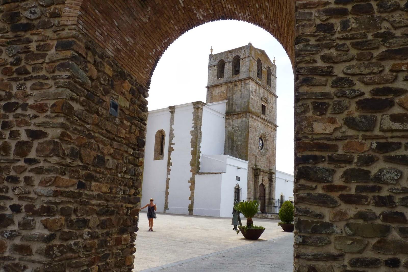 Olivenza, Puerta de San Sebastián.